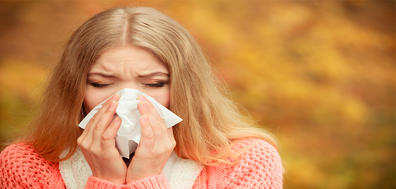 Pas på huden omkring næsen, når du er forkølet